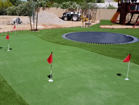 Artificial Turf Cost Volta, California Outdoor Putting Green, Backyard Design artificial grass