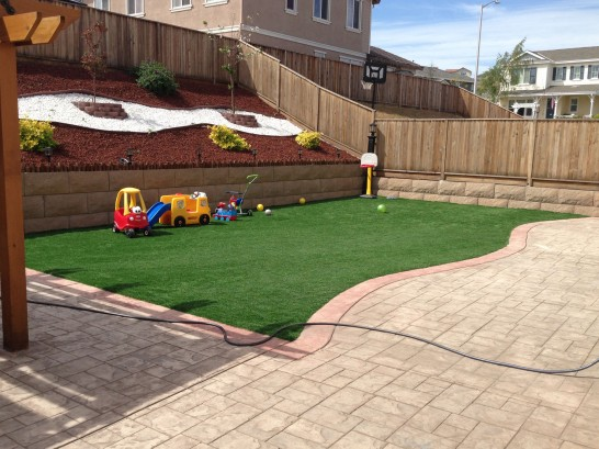 Artificial Grass Photos: Fake Lawn Dos Palos, California Upper Playground, Backyard