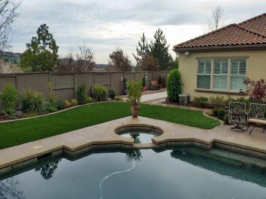 Artificial Grass Photos: Synthetic Grass Cost Livingston, California Rooftop, Swimming Pool Designs