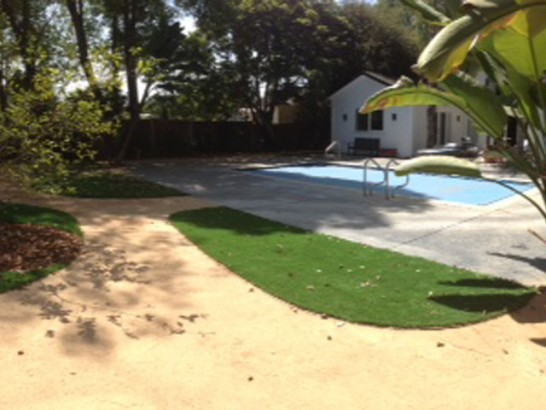 Synthetic Lawn Merced, California City Landscape, Backyard Designs artificial grass