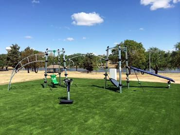Artificial Grass Photos: Synthetic Lawn South Dos Palos, California Upper Playground, Recreational Areas