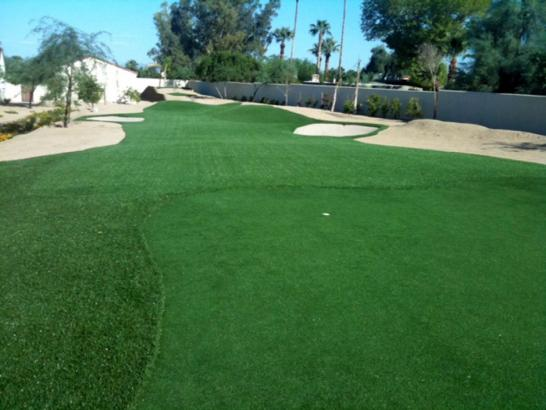 Synthetic Turf Winton, California Putting Green artificial grass